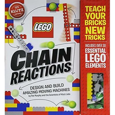 Klutz LEGO Chain Reactions Craft Kit New