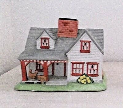 Partylite The Farm House Tealight Candle Holder NIB