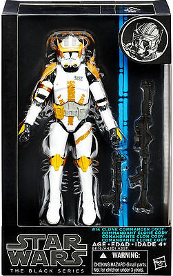 "Star Wars Commander Cody 6"" Black Series Bsga 14"