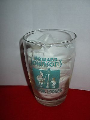 Vintage Howard Johnson Motor Lodge Glass