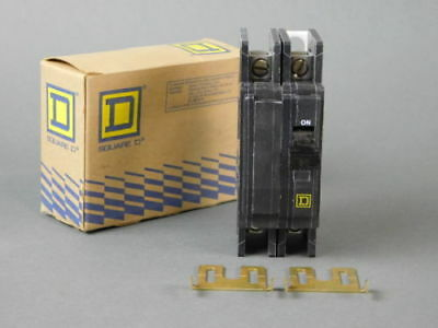 Square D 2-Pole, 30 Amp, 240V Circuit Breaker QOU230 - NEW Surplus!