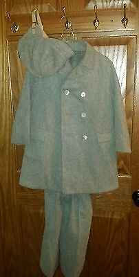 Boys Vintage Wool Suit