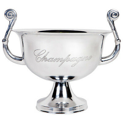 Veron Polished Silver Champagne Bucket/Wine Ice Bucket Holder/Table Centre