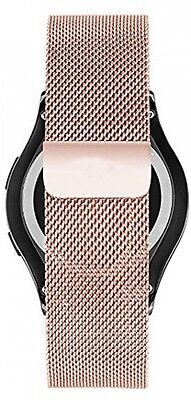 Stainless Steel Smart Watch Band for Samsung Galaxy Gear S2 Classic Rose Gold