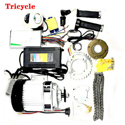 Yes 48V 500W Brushless Gears Motor Y2R3 Electric Tricycle Bicycle Conversion Kit