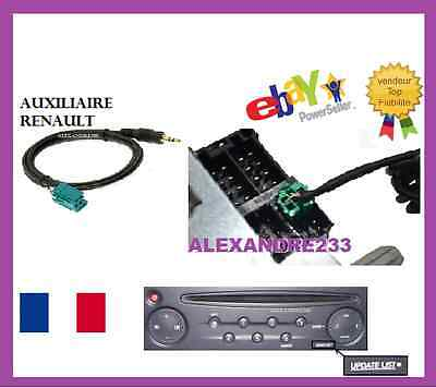 prise audio renault megane 3 iii master 3 iii prise aux carte sd usb eur 49 90. Black Bedroom Furniture Sets. Home Design Ideas