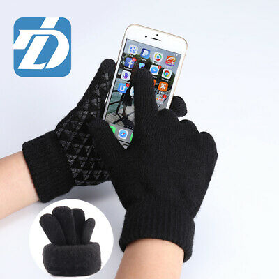 Warm Touch Screen Gloves Soft Wool Winter Gloves women men gloves