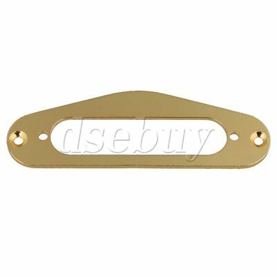 Gold Single Coil Pickup Surround Plate Mounting Ring for Guitar
