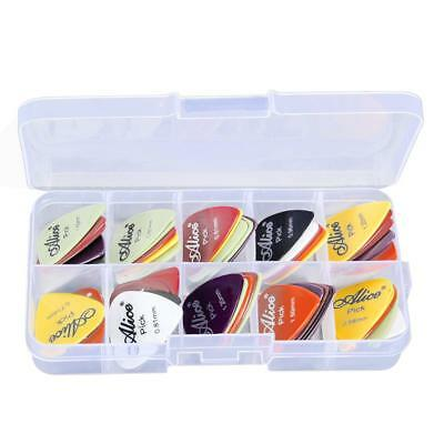 24pcs Gitarre Plektrum Plektren Plectrum Finger Picks Gitarrenplektren