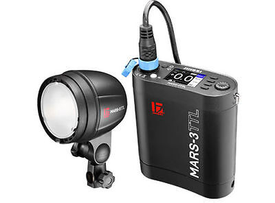 Jinbei MARS-3 TTL Battery Outdoor Studio Strobe Flash 300Ws With 1/8000s HSS