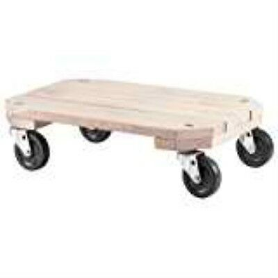 Shepherd Hardware 9854 Solid Wood Plant Dolly, 12-Inch x 18-Inch, 360-lb Load Ca