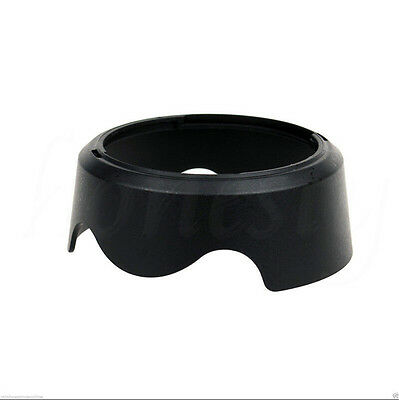 Camera Lens Hood Shade For Canon EW63C EF-S 18-55mm f/3.5-5.6 IS STM