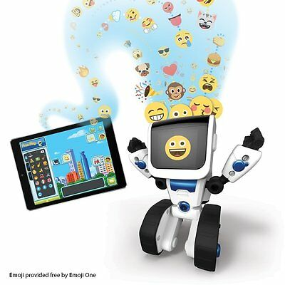 WowWee Coji the Coding Robot - Kids STEM Educational Toy NEW Games Android Apple