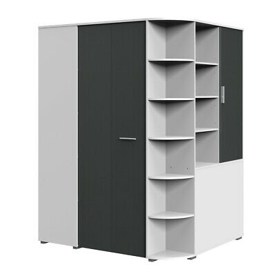eckschrank schrank kleiderschrank begehbar kleidung m bel modern eur 449 00 picclick de. Black Bedroom Furniture Sets. Home Design Ideas