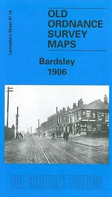Old Ordnance Survey Map Bardsley 1906