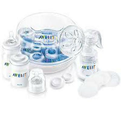 Newborn Starter Set Pack with DUMMY Brush Four BOTTLES All In One Pack
