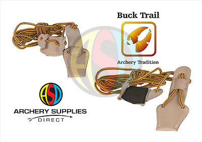 Buck Trail Archery Traditional Leather universal Bow Stringer