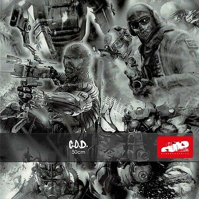 C.O.D Hydrographics Film - Check Shipping Details