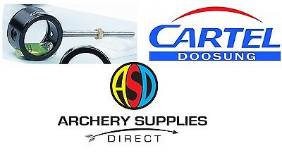 Cartel 207 Scope Compound Archery Ambidextrous Light weight Alloy Choose Lens