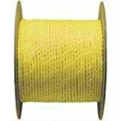 WELLINGTON CORDAGE 15019 3/8-Inch X 600-Feet Yellow Poly Rope