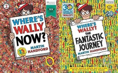 Where's Wally Now? & The Fantastic Journey - 2 World Book Day Books