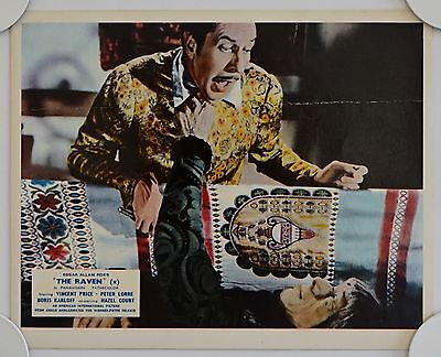 The Raven Original British Front Of House Lobby Card
