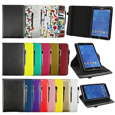 Universal 360° Rotating Wallet Case Cover fits Lenovo Tab 4 10 Tablet PC 10.1 In