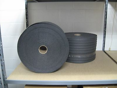 "1/8"" PE Black Recycled Foam Wrap 12"" x 550' Per Bundle - Ships Free!"