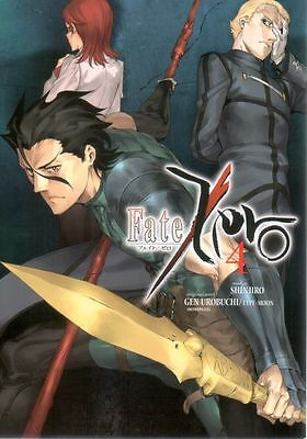 Fate Zero  Volume 4   Shinjiro  Manga Pbk  NEW