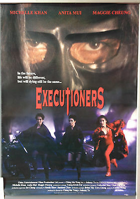 Cinema Poster: EXECUTIONERS 1993 (One Sheet) Maggie Cheung Michelle Yeoh