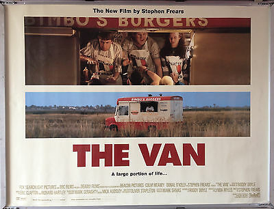 Cinema Poster: VAN, THE 1996 (Quad) Colm Meaney Donal O'Kelly Ger Ryan
