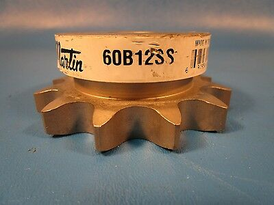 "Martin 60B12SS, No Key Way, 4`Single 3/4"" Reborable Sprocket"