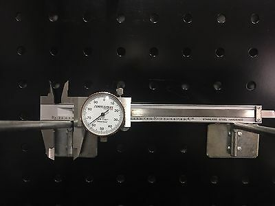 "4""x0.001"" Dial Caliper, Stainless Steel with Large Clear Dial, #P920-S214D"