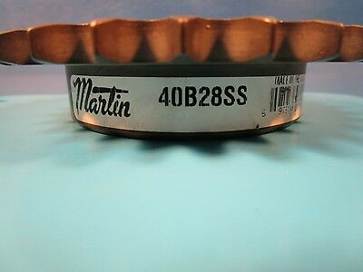 Martin 40B28SS, 5/8 Bore, Reborable Sprocket, 40 Single Strand Chain, 28 Teeth