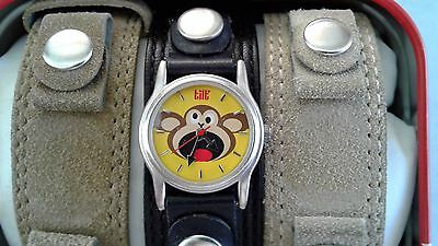 2002 Tilt Monkey Wrist Watch New