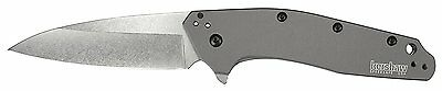 """Kershaw Dividend 3"""" 420HC Steel Blade Gray w/ Anodized Aluminum Handle 1812GRY"""