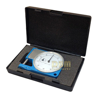 "1/2"" Pocket Dial Thickness Gauge Gage Micrometer Measurement Tool"