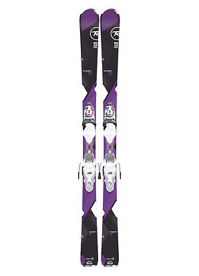 Rossignol 2017 Temptation 80 Skis with Express 11 Bindings 144 cm - Womens