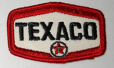 Texaco  Gasoline Patch Embroidered Oil 3 inches  Vintage
