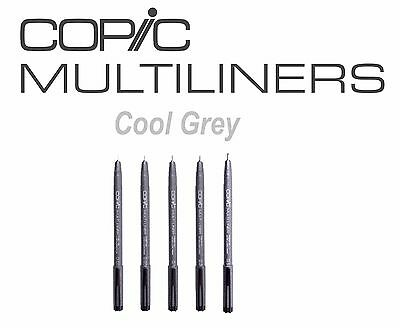Copic Multiliner COOL GREY Available in 0.03mm, 0.05mm, 0.1mm, 0.3mm, 0.5mm