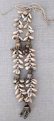 Shell Cowrie Dangle Indian Tribal Banjara Necklace Belly Dance Gypsy Wear
