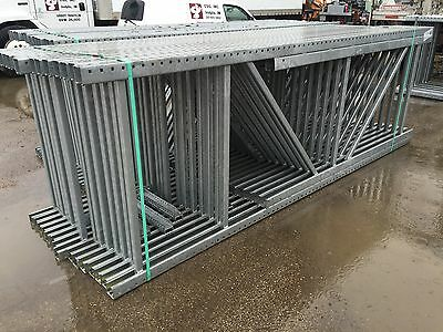 New Galvanized Upright Tear Drop/pallet Racking...