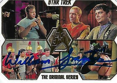 William Smithers Signed 2016 Star Trek 50Th Anniversary #44 - Bread & Circuses