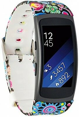 Replacement Strap Wrist Band Bracelet for Samsung Gear Fit 2 Tracker Smart Watch