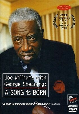 Joe Williams with George Shearing: A Song Is Born (2010, DVD NUEVO) (REGION 1)