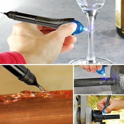 5 Second Welding Kit Fix Fix Liquid Plastic UV Repair & Seal Wood Glass Fabric