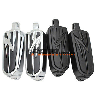Rider Passenger Cruiser Tribal Style Foot Rests Pegs For Harley Davidson New