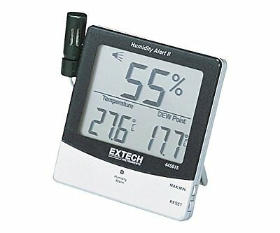 Extech 445815 Humidity Meter with Alarm and Remote Probe Hygrometers Test Meters