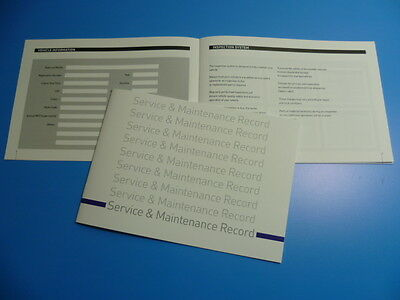 MERCEDES-BENZ Service Book  New Unstamped History Maintenance Record