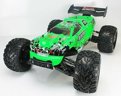 Coche RC Bison Monster Truck 4WD 1/8 Brushless 11.1v Lipo  Verde VKar Racing (VK